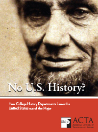 Lincoln on cover of report
