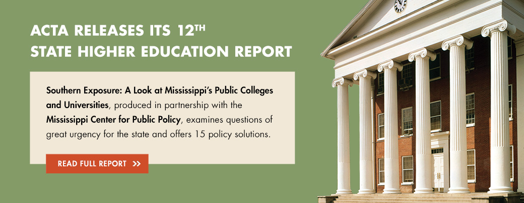 ACTA Releases Its 12th State Higher Education Report