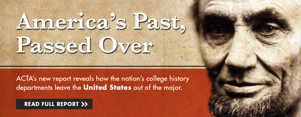America's Past, Passed Over